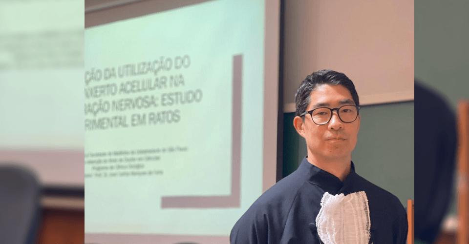 Especialista em mão do VITA defende doutorado na USP